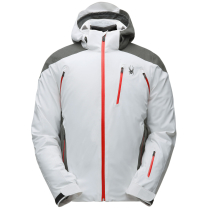 Buy Garmisch Jkt M White/Wool Blend Twill/Volcano