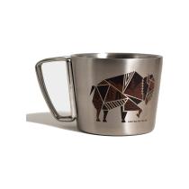 Acquisto Geo Bison 12Oz Convertible Mug Brown