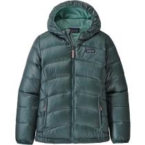 Acquisto Girls' Hi-Loft Down Sweater Hoody Regen Green
