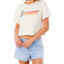 Achat Golden State Crop Tee Bone