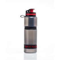 Achat Gourde Outdoor Active Water To Go Black/Red 75cl