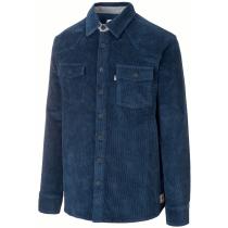 Buy Graftons Shirt M Corduroy Dark Blue
