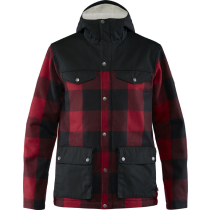 Achat Greenland Re-Wool Jacket M Red-Black