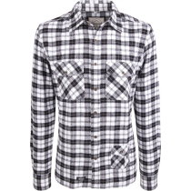 Achat Hüehner Pflock Shirt Mens Black/White Check