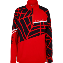 Acquisto Hideout Zip T-Neck Bright Red