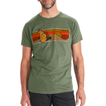 Buy Hiking Marty Tee SS Olive Heather
