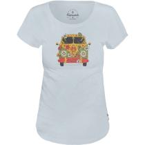 Achat Hippie Bus T Shirt Illusion Blue