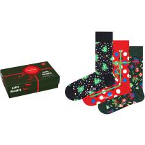 Acquisto Holiday Socks Gift Set Vert/Noir/Rouge 3 Pack