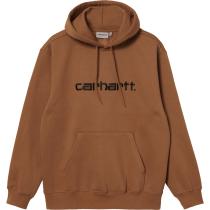 Achat Hooded Carhartt Sweat Hamilton Brown Black