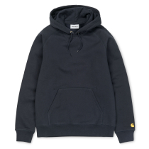 Achat Hooded Chase Sweat Dark Navy / Gold