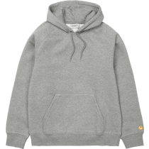 Buy Hooded Chase Sweat Regular Grey Heather / Gold