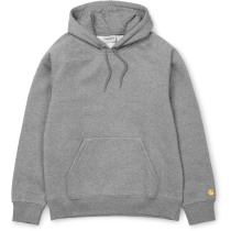 Kauf Hooded Chase Sweat Regular Grey Heather / Gold