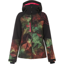 Buy Hourglass Softshell 3L 10K Jacket Geo Camo Green Pink P