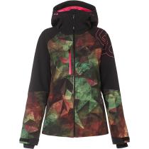Kauf Hourglass Softshell 3L 10K Jacket Geo Camo Green Pink P
