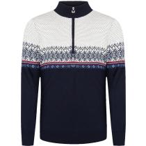 Achat Hovden Masc Sweater Bleu Marine/Blanc