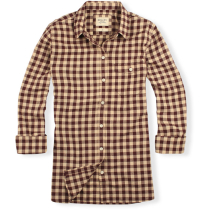 Achat Iago Maroon Checks