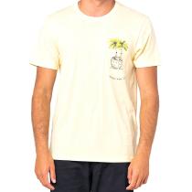 Buy In Da Pocket Tee Pale Yellow