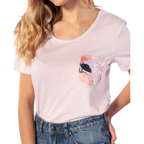 Kauf Island Pocket Tee Lilac Snow