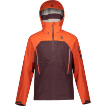 Buy Jacket M's Explorair 3L Orange Pumpkin/Red Fudge