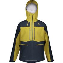 Buy M's Vertic GTX 3L Stretch Ecru Olive/Dark Blue Jacket