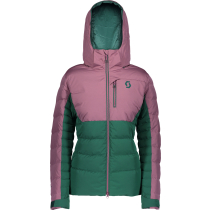 Achat Jacket W's Ultimate Down Cassis Pink/Jasper Green