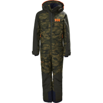 Kauf JR Fly High Ins Ski Suit Olive Aop
