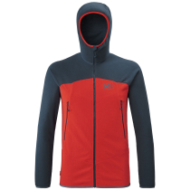 Buy K Lightgrid Hoodie M Fire/Orion Blue