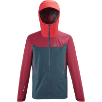 Buy Kamet Light GTX Jacket M Orion Blue/ Tibetan Red
