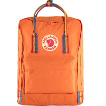 Acquisto Kanken Rainbow Burnt Orange-Rainbow Pattern