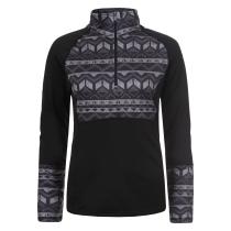Achat Karina W 1/2 Zip Shirt Noir