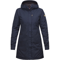Buy Kiruna Padded Parka W Dark Navy