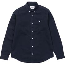 Acquisto L/S Madison Shirt Dark Navy Wax