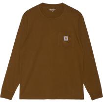 Buy L/S Pocket T-Shirt Tawny