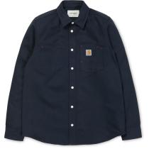 Buy L/S Tony Shirt Dark Navy