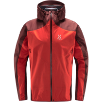 Achat L.I.M Comp Jacket Men Habanero/Maroon Red