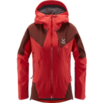 Buy L.I.M Touring PROOF Jacket Women Hibiscus Red/Maroon Red
