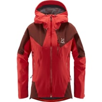 Kauf L.I.M Touring PROOF Jacket Women Hibiscus Red/Maroon Red