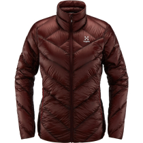 Kauf L.I.M Essens Jacket Women Maroon Red