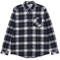 Kauf L/S Bostwick Shirt Bostwick Check Blue