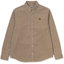 Buy L/S Madison Cord Shirt Wall / Black