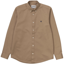 Acquisto L/S Madison Shirt Leather / Dark Navy