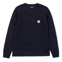 Achat L/S Pocket Tee Dark Navy