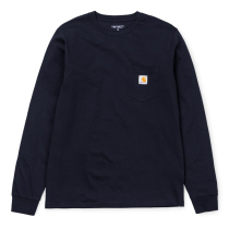 Acquisto L/S Pocket Tee Dark Navy
