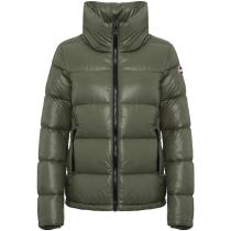 Buy Ladies Down Jacket Matcha-Dark Steel