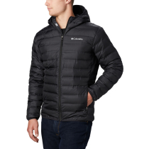 Buy Lake 22 Down Hooded Jacket Black