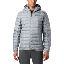 Achat Lake 22 Down Hooded Jacket Columbia Grey Heather