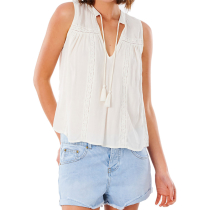 Buy Layla Sleeveless Shirt White