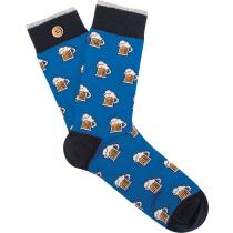 Acquisto Leopold & Zoe Blue Socks M