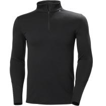 Buy Lifa Merino Midweight 1/2 Zip Black