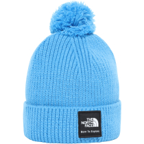Achat Littles Box Logo Pom Beanie Clear Lake Blue